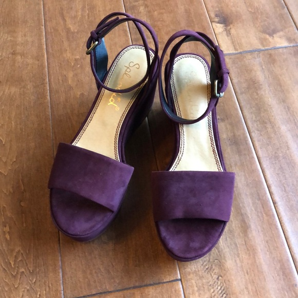 babde36d9011 Splendid Women s Felix Suede Platform Sandal